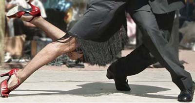 Tango Shoes Women on Buenos Aires Tango Tour 2012